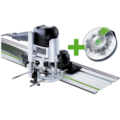 Défonceuse FESTOOL OF 1010 EBQ-Set + Box-OF-S 8/10x HW